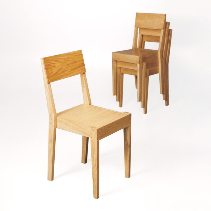 Piet Hein Eek - Chair in Oak