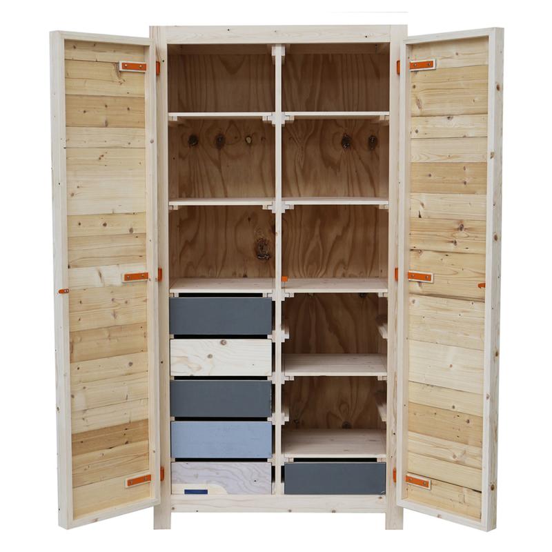 Piet Hein Eek - 2-doors Cabinet in Scrapwood