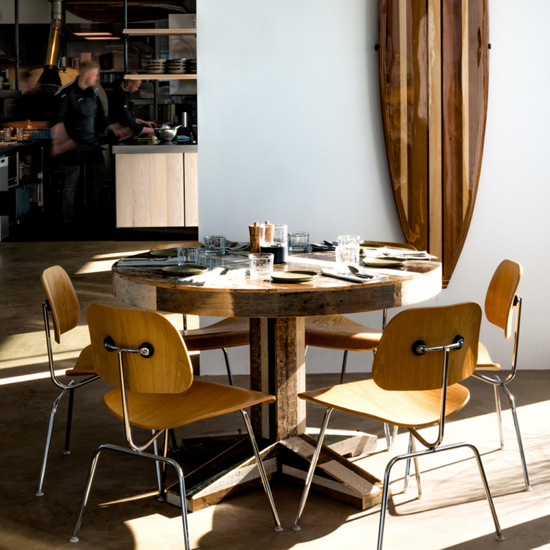 Piet Hein Eek - Canteen Table in Scrapwood - Round