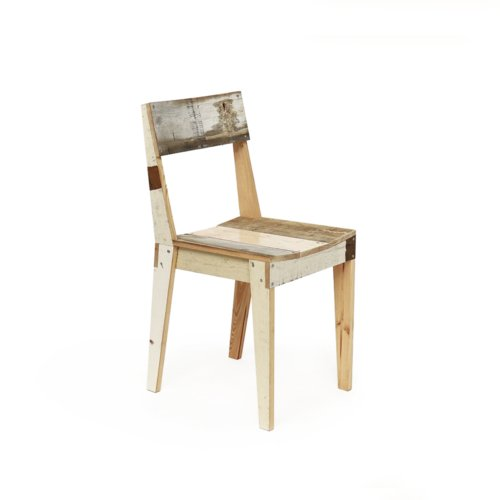Piet Hein Eek - Oak Chair in Scrapwood