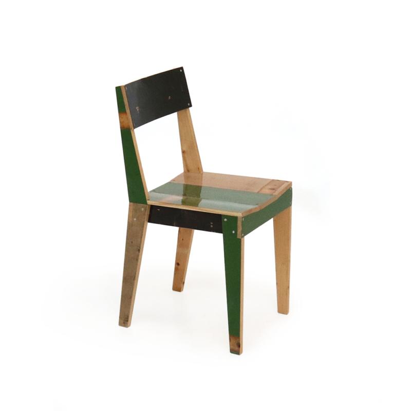 Piet Hein Eek - Oak Chair in Scrapwood