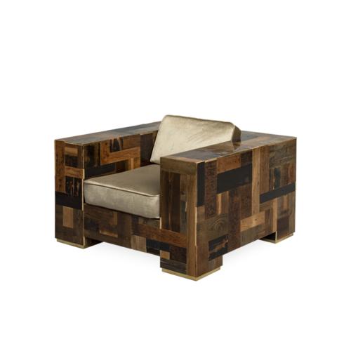 Piet Hein Eek - Dark Waste Armchair