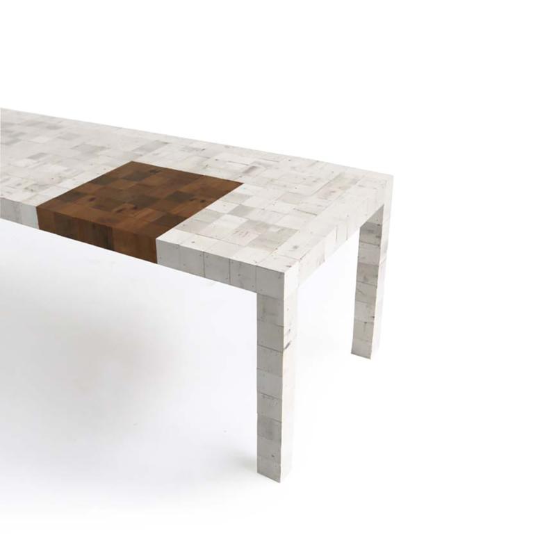 Piet Hein Eek - Waste Waste Different Table 80x80 - For Cibone / Welcome