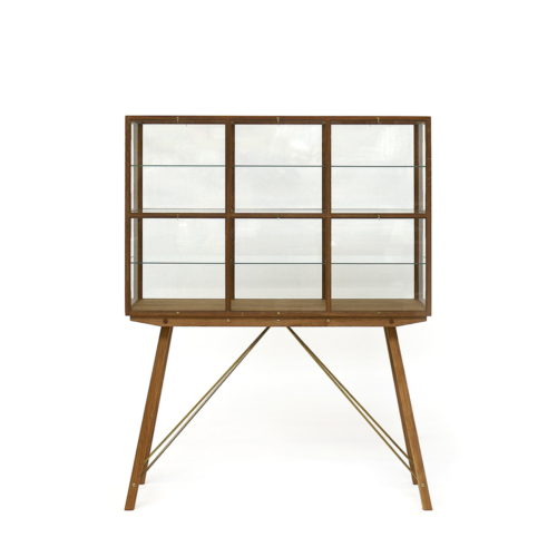 Piet Hein Eek - Oak Display Cabinet On Legs