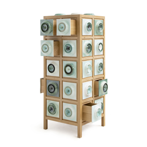 Piet Hein Eek - Tile Cabinet in Oak No. 1