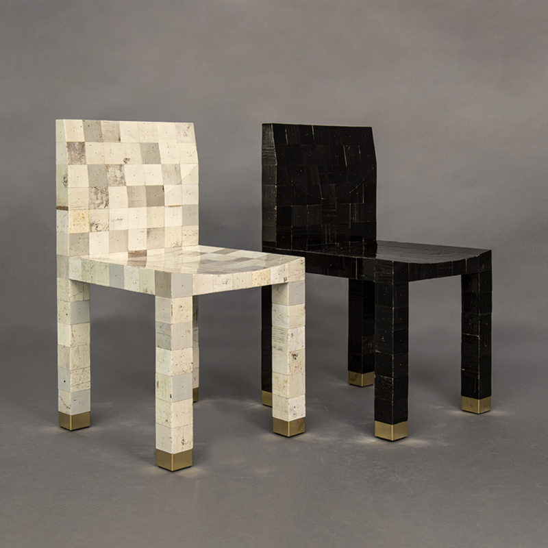 Piet Hein Eek - Waste Waste Chair 60×60
