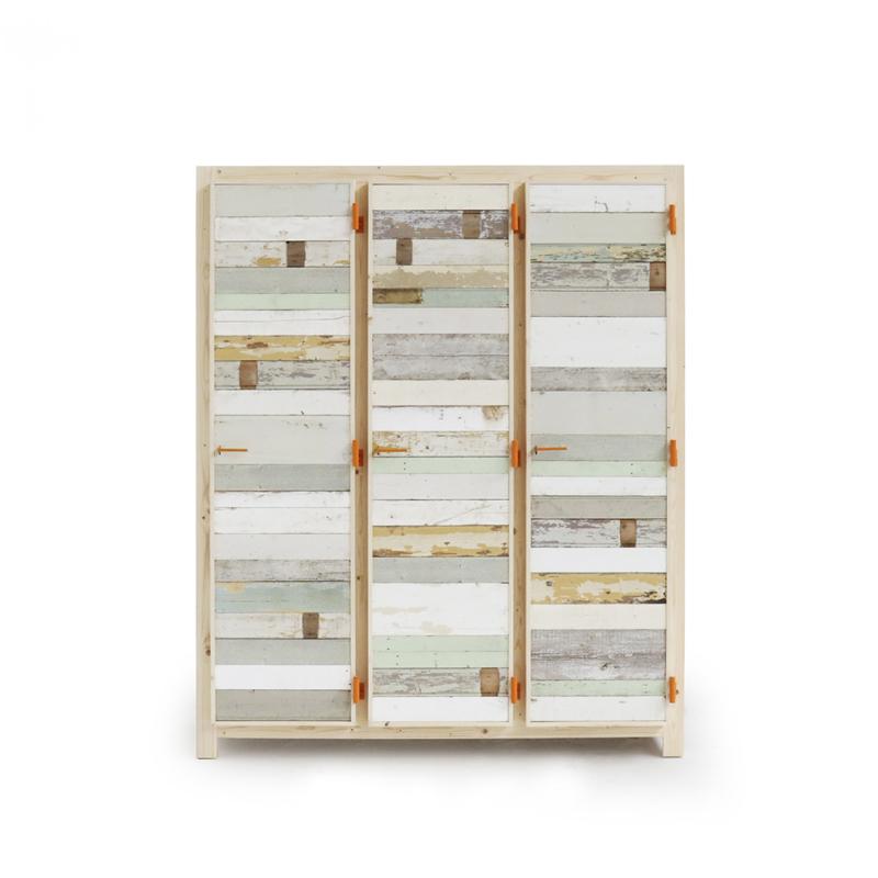 Piet Hein Eek - 3-doors Cupboard in Scrapwood