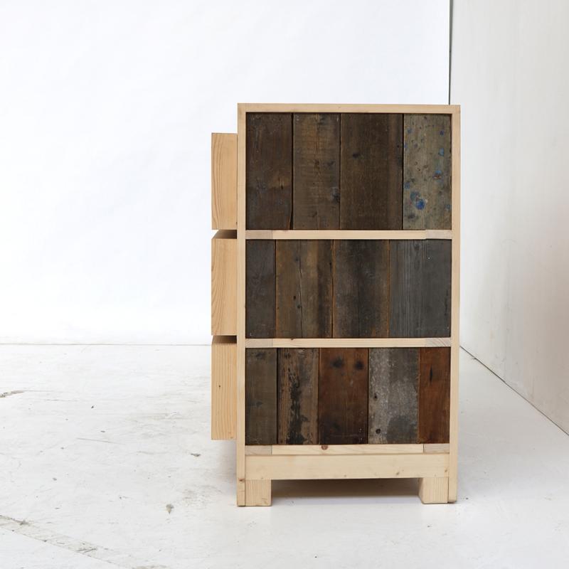 Piet Hein Eek - 3-drawer Dressoir in Scrapwood