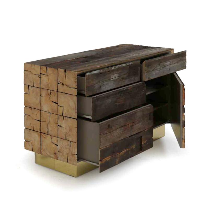 Piet Hein Eek - Enormous Beam Cabinet No. 11