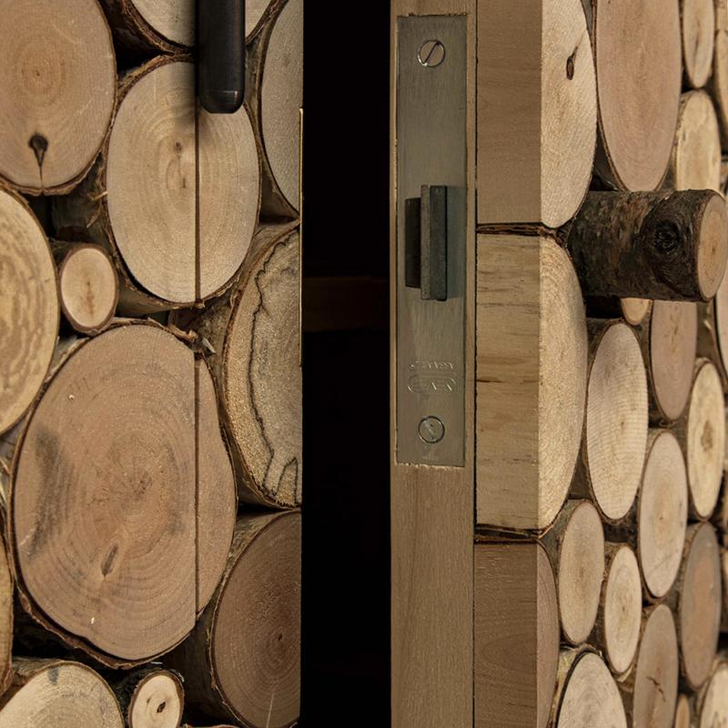 Piet Hein Eek - Tree Trunk Cabinet
