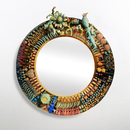 Manu Crotti - Il Turchese e il Nero Mirror