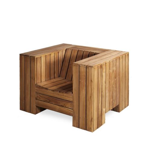 Piet Hein Eek - Enormous Outdoor Armchair