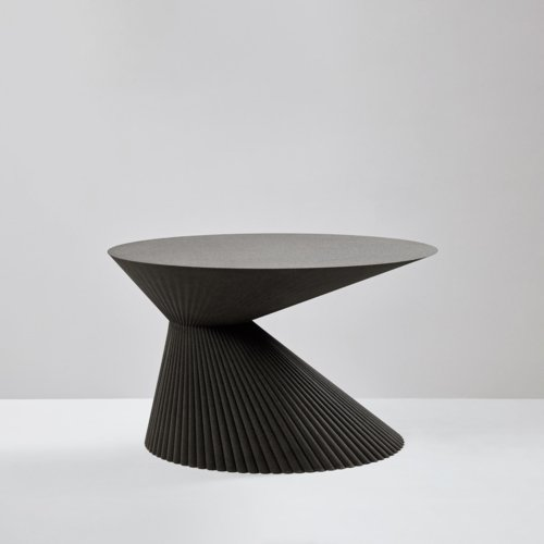 Rive Roshan - Pleat Side Table
