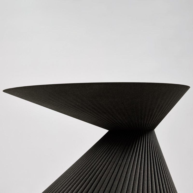 Rive Roshan - Pleat Side Table