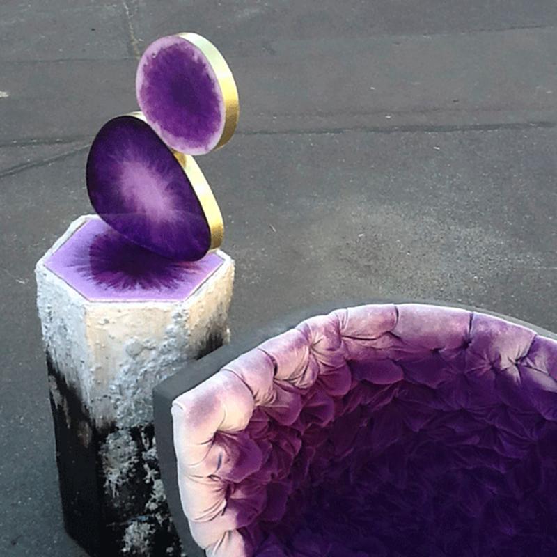 Von Pelt Atelier - Amethyst Chair